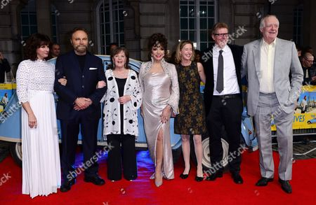 Sian Reeves, Franco Nero, Pauline Collins, Dame Joan Collins, Producer Sarah Sulick, Director Roger Goldby and Sir Tim Rice