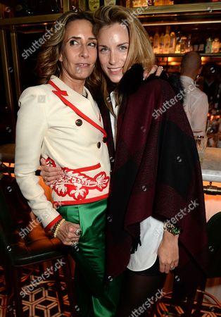 Tara Bernerd and Lady Aspinall