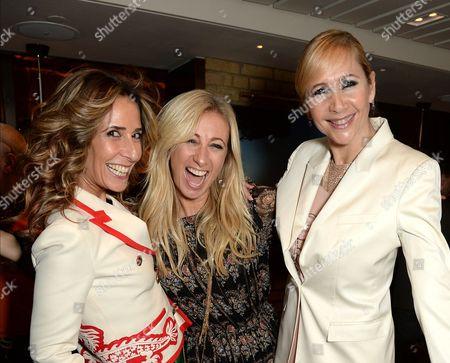 Tara Bernerd, Hayley Sieff and Tania Bryer