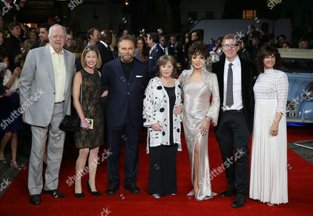 Tim Rice, Franco Nero, Pauline Collins, Joan Collins, Roger Goldby and Sian Reeves