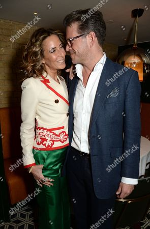 Tara Bernerd and Tommy Foxcroft