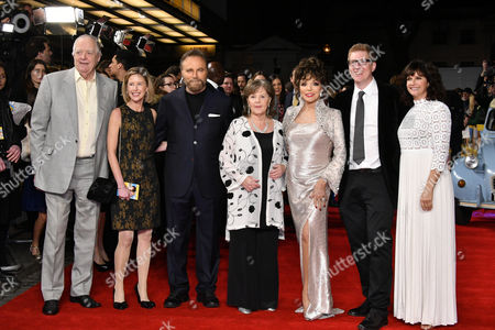 Sir Tim Rice, Franco Nero, Pauline Collins, Dame Joan Collins, Roger Goldby, Sian Reeves