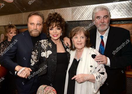 Franco Nero, Dame Joan Collins, Pauline Collins and John Alderton