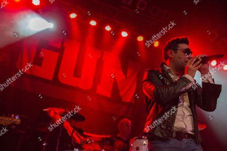 Stock Image of Gun - Paul McManus and Dante Gizzi