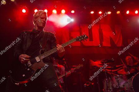 Editorial image of Gun in concert at O2 ABC, Glasgow, Scotland, UK - 08 Mar 2017