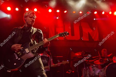 Editorial picture of Gun in concert at O2 ABC, Glasgow, Scotland, UK - 08 Mar 2017