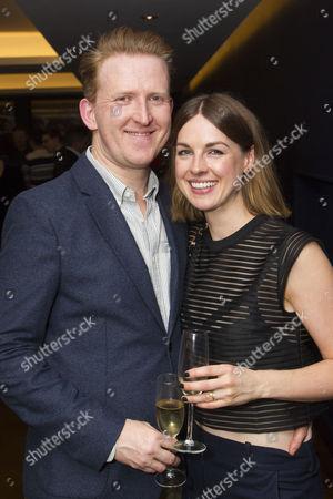 Tom Goodman-Hill (David Owen) and Jessica Raine