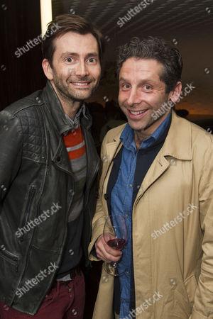 David Tennant and Elliot Levey