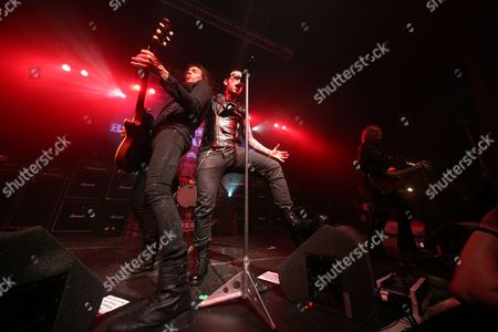 Editorial picture of Black Star Riders in concert at O2 ABC, Glasgow, Scotland, UK - 08 Mar 2017