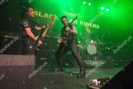 Black Star Riders - Damon Johnson, Ricky Warwick and Jimmy DeGrasso