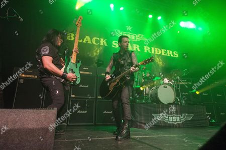 Editorial image of Black Star Riders in concert at O2 ABC, Glasgow, Scotland, UK - 08 Mar 2017