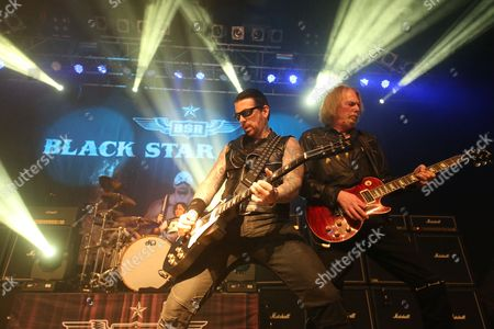 Black Star Riders - Jimmy DeGrasso, Ricky Warwick and Scott Gorham