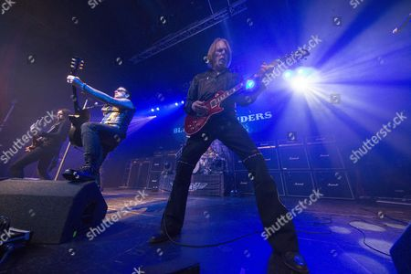 Black Star Riders - Damon Johnson, Ricky Warwick and Scott Gorham