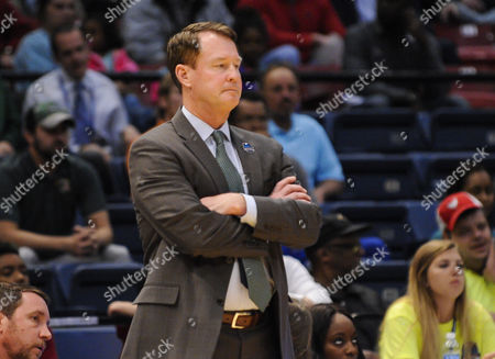 Charlotte 49ers head coach Mark Price watches during the CUSA Tournament between the Charlotte 49ers and the UAB Blazers at Legacy Arena in Birmingham AL UAB wins 74-73 Steve Roberts /Cal Sport Media