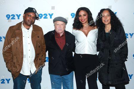Reggie Rock Bythewood, Richard Dreyfuss, Sanaa Lathan and Gina Prince-Bythewood
