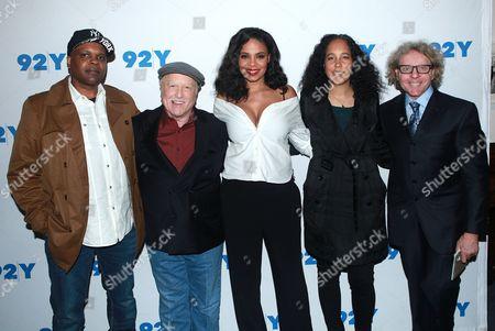 Reggie Rock Bythewood, Richard Dreyfuss, Sanaa Lathan, Gina Prince-Bythewood and Thane Rosenbaum