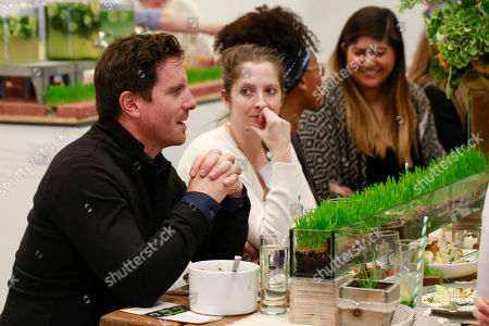 Stock Image of New York Chef and Restauranteur Seamus Mullen hosts intimate dinner to celebrate the 2017 Seeds of Change Grant Program awarding $310,000 in grants, in New York. School, community garden and farming programs can apply through March 28, 2017