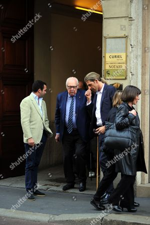 Editorial photo of Vittorio Emanuele di Savoia out and about, Milan, Italy - 08 Mar 2017