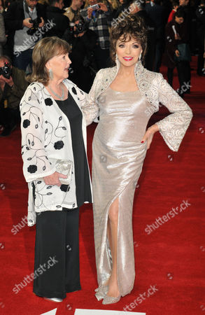 Pauline Collins and Dame Joan Collins