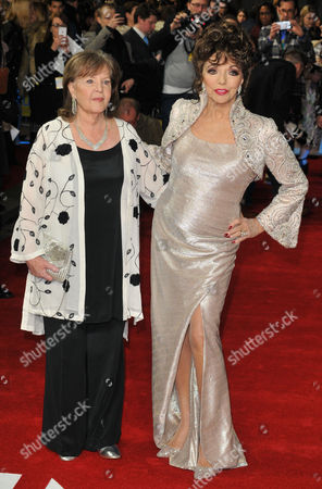 Stock Picture of Pauline Collins and Dame Joan Collins