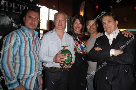 Neal McDonough, wife Ruve Robertson, Esai Morales, Damian Chapa