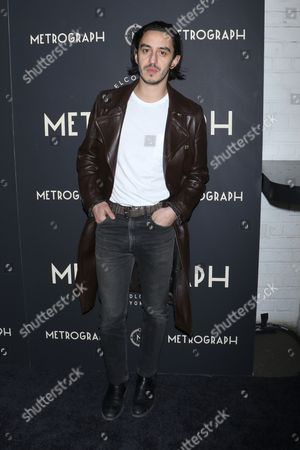 Editorial picture of Metrograph 1st Year Anniversary Party, Arrivals, New York, USA - 08 Mar 2017