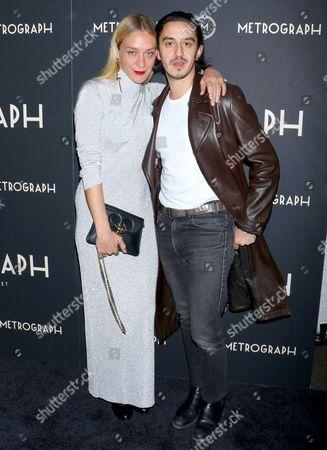 Stock Image of Chloe Sevigny and Ricky Saiz