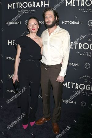 Stock Image of Yelena Yemchuk and Ebon Moss-Bachrach