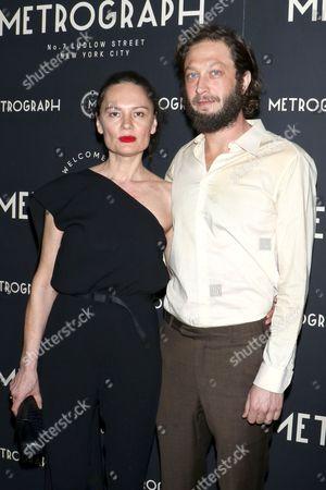 Yelena Yemchuk and Ebon Moss-Bachrach