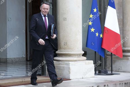 French Junior Minister for Sports Thierry Braillard