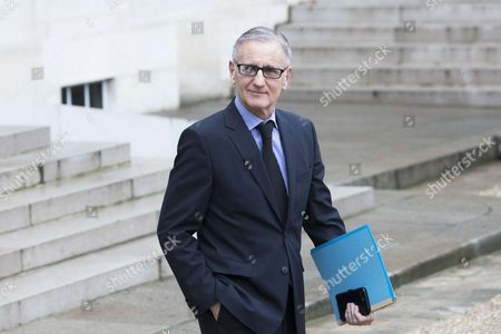 Stock Photo of French Junior Minister for Parliamentary Relations Andre Vallini