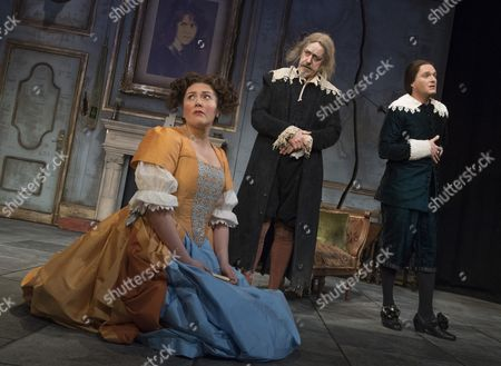 Editorial image of 'The Miser' play performed at the Garrick Theatre, London, UK, 06 Mar 2017