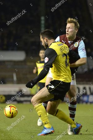 Editorial picture of Burnley V Watford - 03 Dec 2013