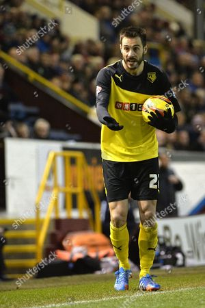 Stock Photo of Marco Cassetti of Watford Gb Burnley