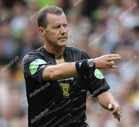Referee Eddie Smith United Kingdom Glasgow