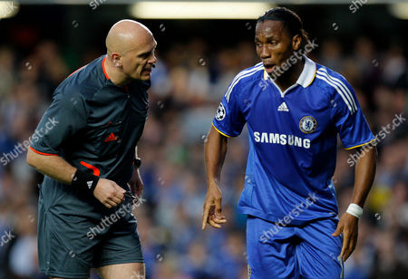 Editorial picture of Chelsea V Barcelona - 06 May 2009