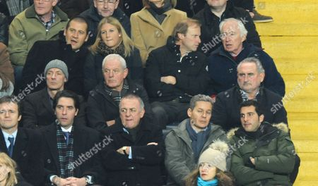 Former Scotland Rangers and Everton Manager Walter Smith Looks On Centre A Couple of Seats Away From Frank Lampard Senior United Kingdom London
