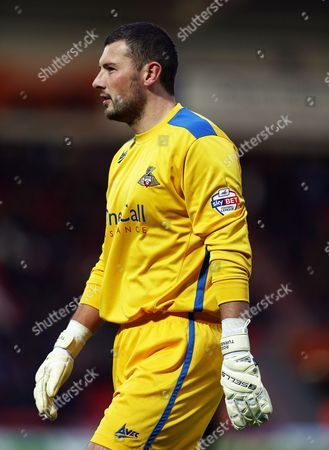 Doncaster Rovers Goalkeeper Ross Turnbull Gb Doncaster