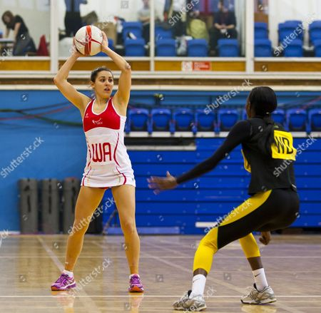 Stock Image of Mia Ritchie of England A Gb London