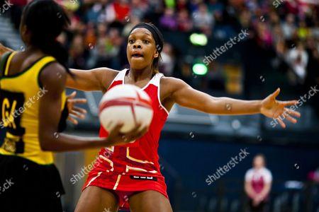 Eboni Beckford - Chambers of England Netball Gb London