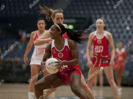 Sasha Corbin of England Netball Gb London