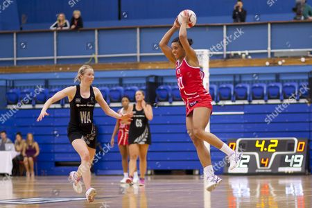Stacey Francis of England Netball Gb London