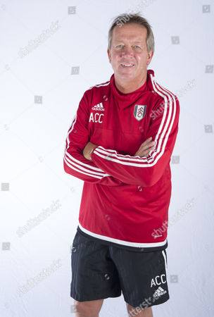 Alan Curbishley During A Portrait Session with Fulham Fc United Kingdom Motspur Park, New Malden