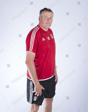 Academy Goalkeeping Coach Vic Bettinelli During A Portrait Session with Fulham Fc United Kingdom Motspur Park, New Malden