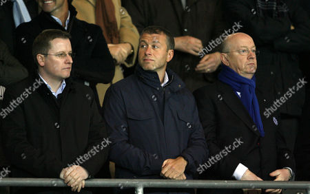 Stock Image of Chelsea Owner Roman Abramovic Italy Turin