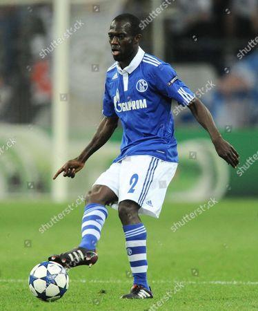 Hans Sarpei of Fc Schalke 04 Germany Gelsenkirchen