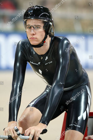 Jesse Sergent of New Zealand During the Men's 1km Time Trial at the World Track Cycling Championships in Poland Poland Pruszkow