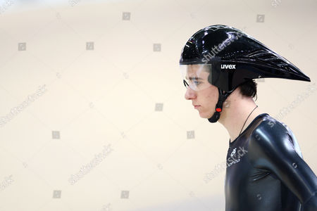 Jesse Sergent of New Zealand Before the Men's 1km Time Trial at the World Track Cycling Championships in Poland Poland Pruszkow