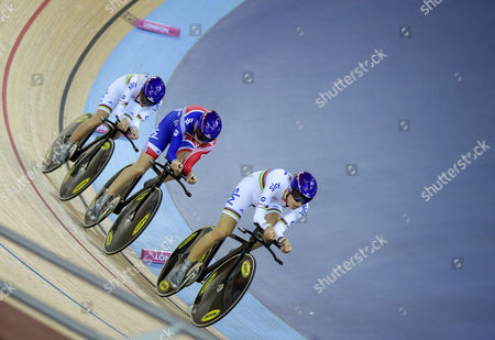 Editorial picture of Uci Track Cycling World Cup - Day Two - 17 Feb 2012