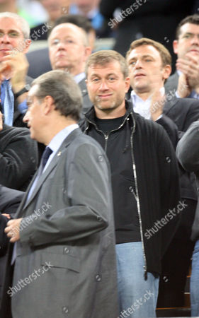 Roman Abramovic, chairman of Chelsea